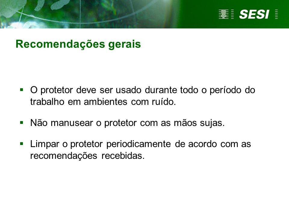 Tipo semi-auricular Tipo inserção-pré-moldado Disponível em: www.segurancanotrabalho-hs.com.br.