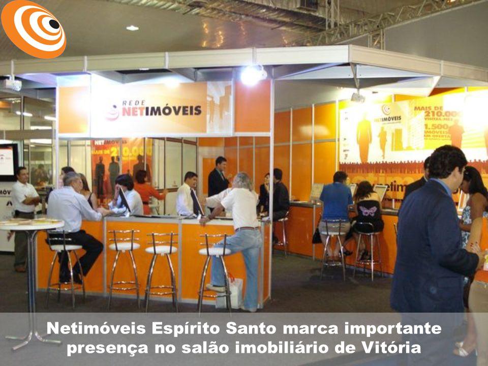 Netimóveis Espírito Santo marca importante presença no salão imobiliário de Vitória