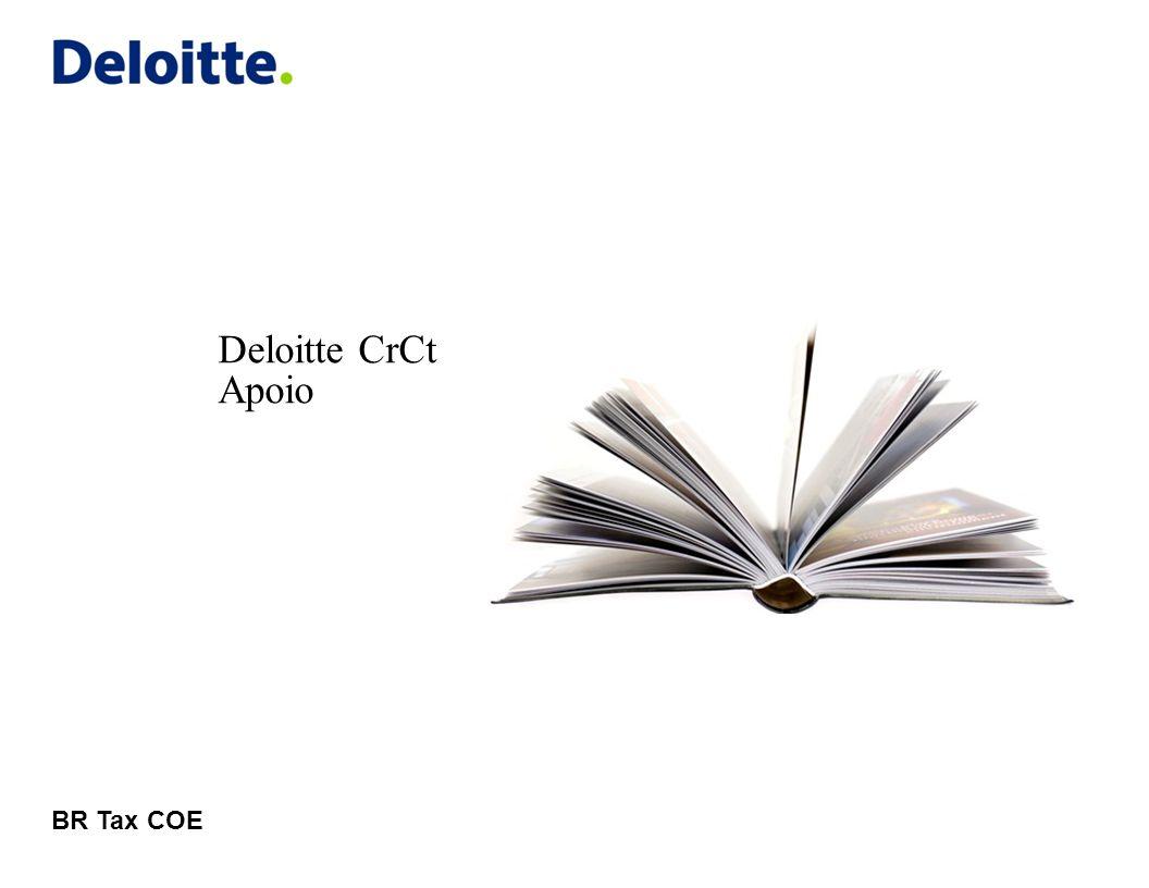 © 2011 Deloitte Global Services Limited IDF – Índice de Desempenho do Fornecedor Visualizando e baixando o IDF 12 Deloitte CrCt Nesta tela é possivel visualizar as informações do IDF.