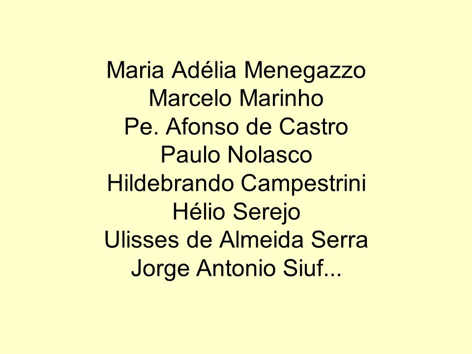 Maria Adélia Menegazzo Marcelo Marinho Pe.