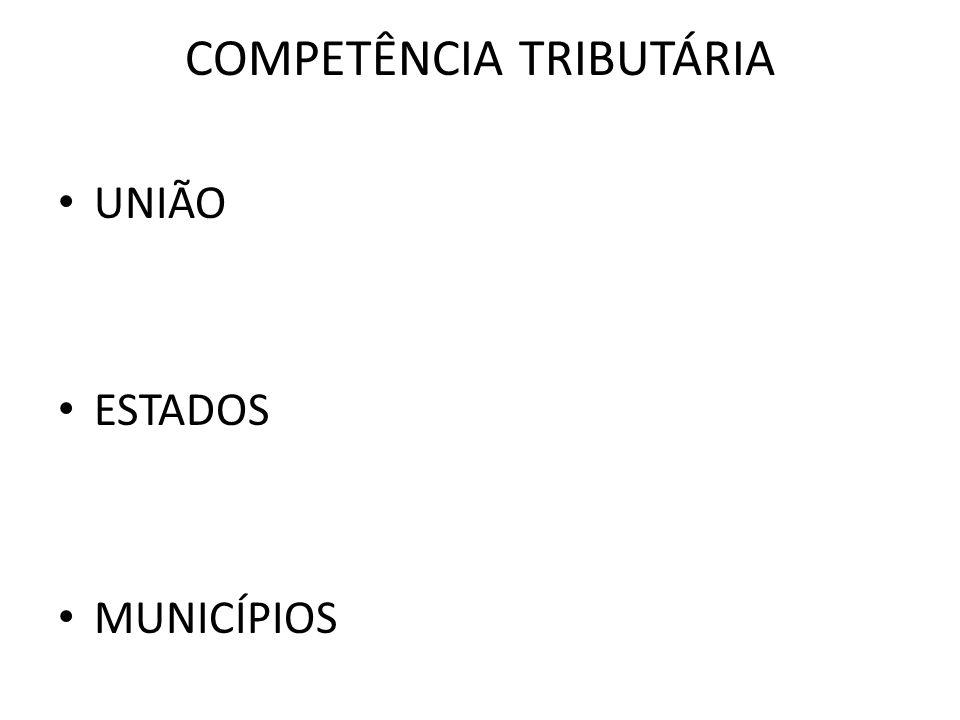 COMPETÊNCIA MUNICIPAL A Constituição Federal, no art.