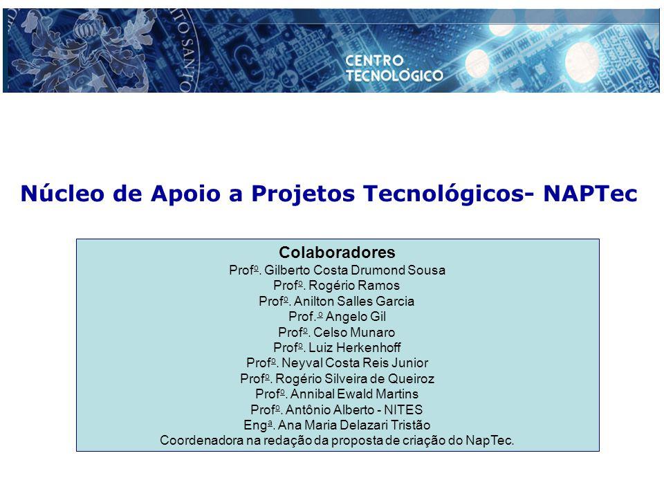 Núcleo de Apoio a Projetos Tecnológicos- NAPTec Colaboradores Prof o.