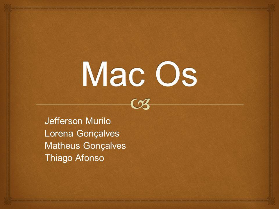 Jefferson Murilo Lorena Gonçalves Matheus Gonçalves Thiago Afonso
