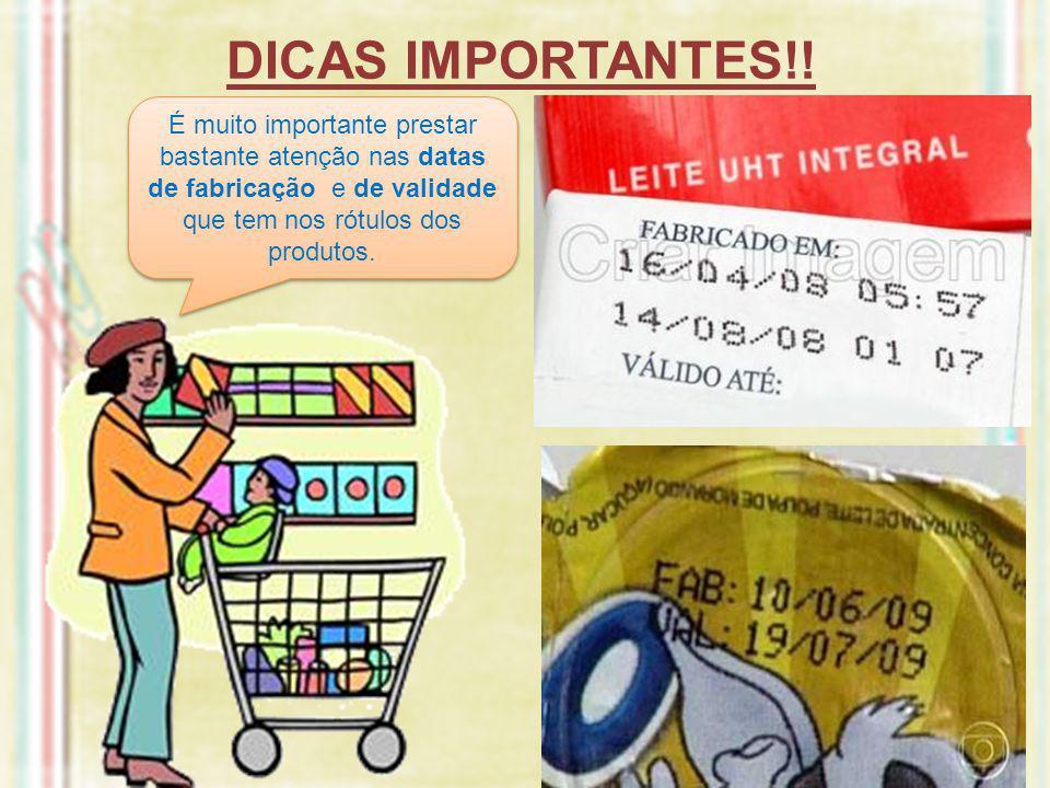 DICAS IMPORTANTES!.