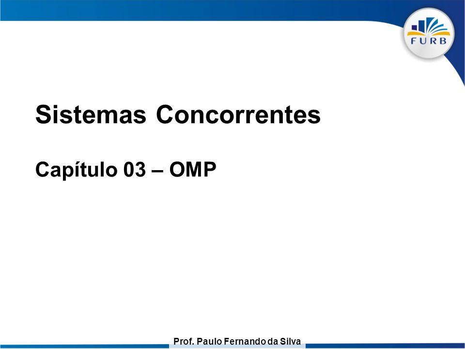 Prof. Paulo Fernando da Silva Roteiro Conceitos Exemplo de Compilação For paralelo Seções paralelas