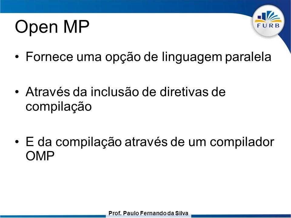 Prof. Paulo Fernando da Silva O for paralelo JOMP