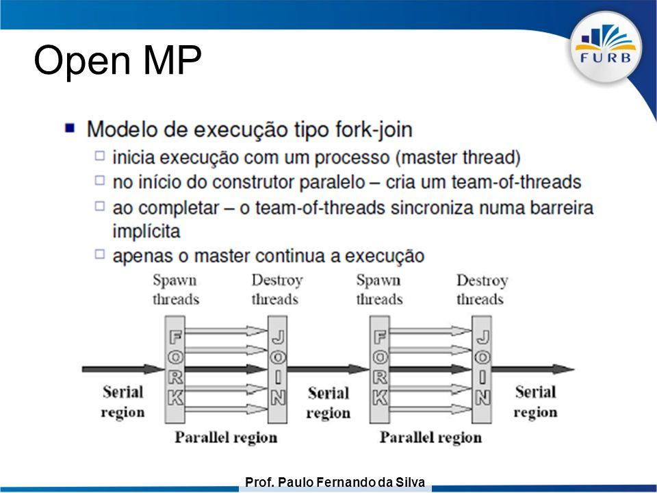 Prof. Paulo Fernando da Silva Open MP
