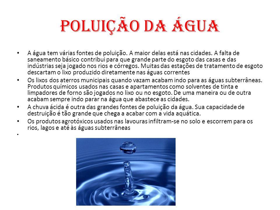 Desperdício de Água Entre a captação de fontes de abastecimento até a torneira do consumidor final, o Brasil perde grande quantidade de água nos processos de tratamento e distribuição.