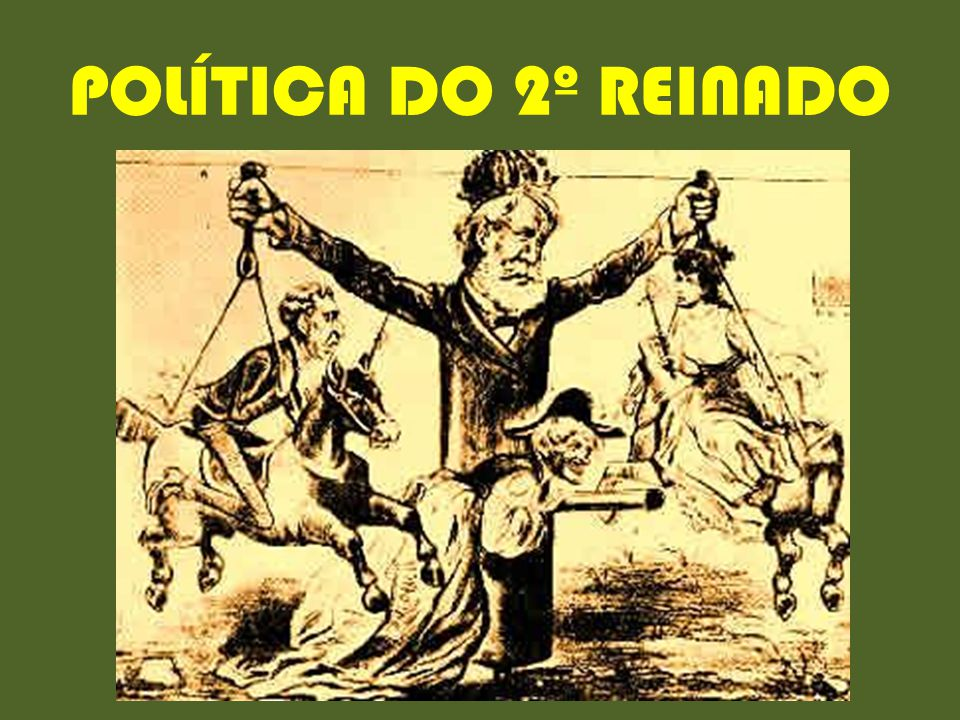 POLÍTICA DO 2º REINADO