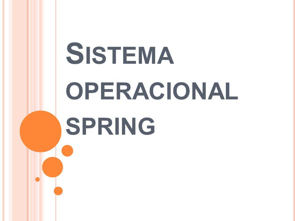 S ISTEMA OPERACIONAL SPRING