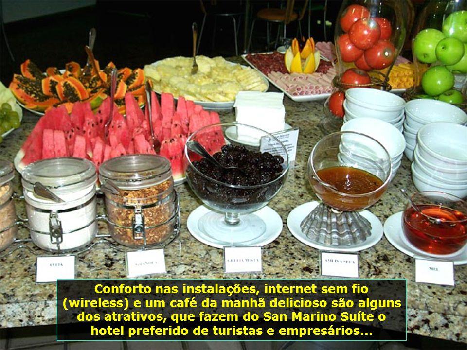 Requinte, conforto, romantismo e um atendimento sem igual: assim é o San Marino Suíte Hotel, de Maceió, com um serviço de primeira qualidade...