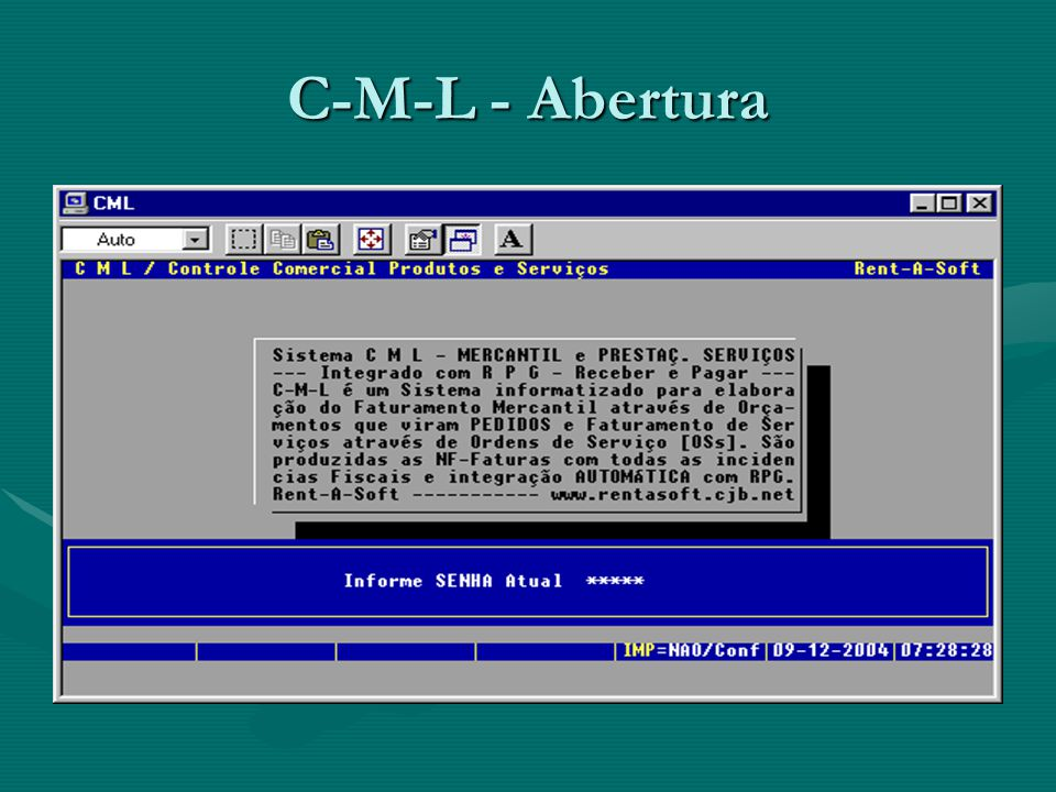 C-M-L - Opções Básicas