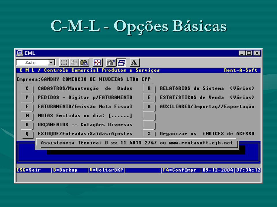 C-M-L integrado com R-P-G Sistemas desenvolvidos por UNITED Informática e comercializados pela forma Rent- A-SoftSistemas desenvolvidos por UNITED Informática e comercializados pela forma Rent- A-Soft Assistencia Técnica permanente !Assistencia Técnica permanente .