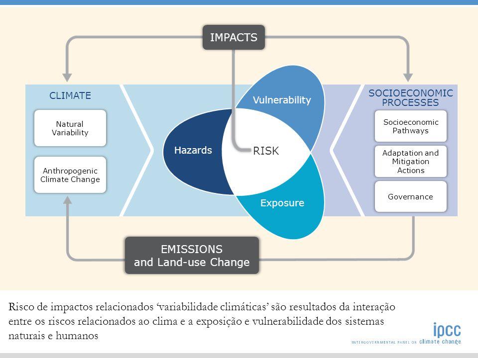 Quais sa ̃ o as principais novidades do relatorio sobre impactos, adaptac ̧ a ̃ o e vulnerabilidade apresentado este ano em relac ̧ a ̃ o ao publicado em 2007.