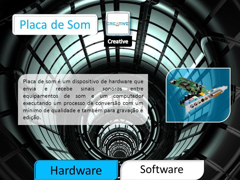 Hardware Software Disco Rígido O Disco rígido é a parte do computador onde são armazenados os dados.