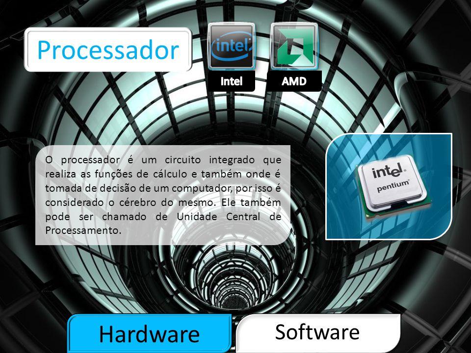 Hardware Software Memória RAM A memória RAM é um tipo de memória que permite a leitura e a escrita, utilizada como memória primária em sistemas eletrônicos digitais.