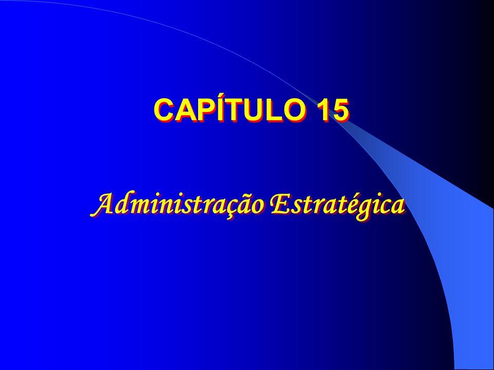 Administração Estratégica CAPÍTULO 15