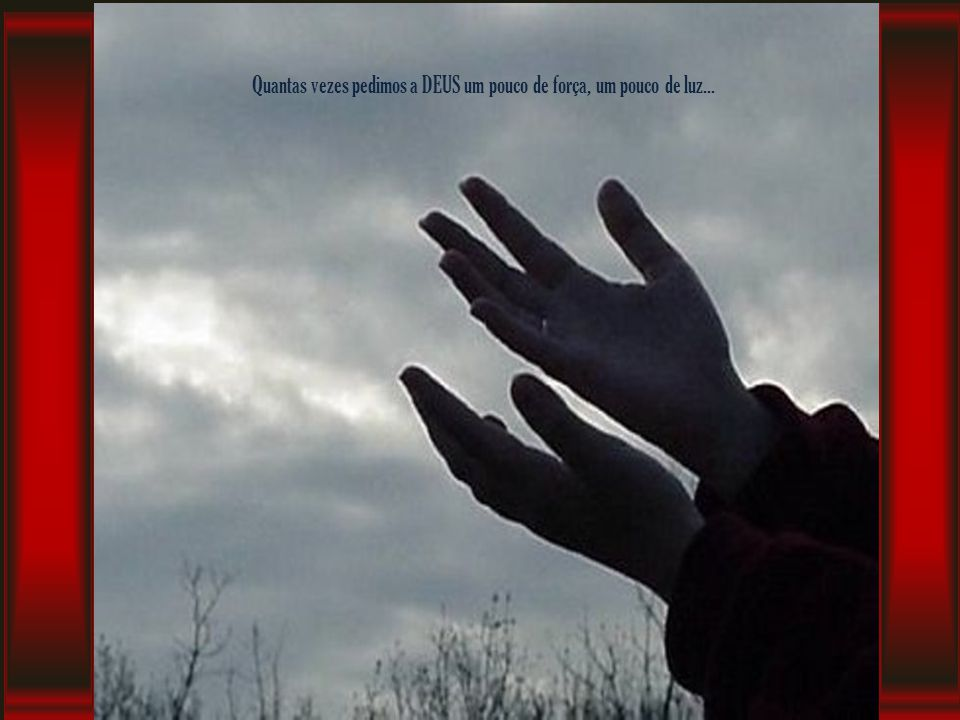 Quantas vezes aquela lágrima, teima em cair, justamente na hora em que precisamos parecer fortes...