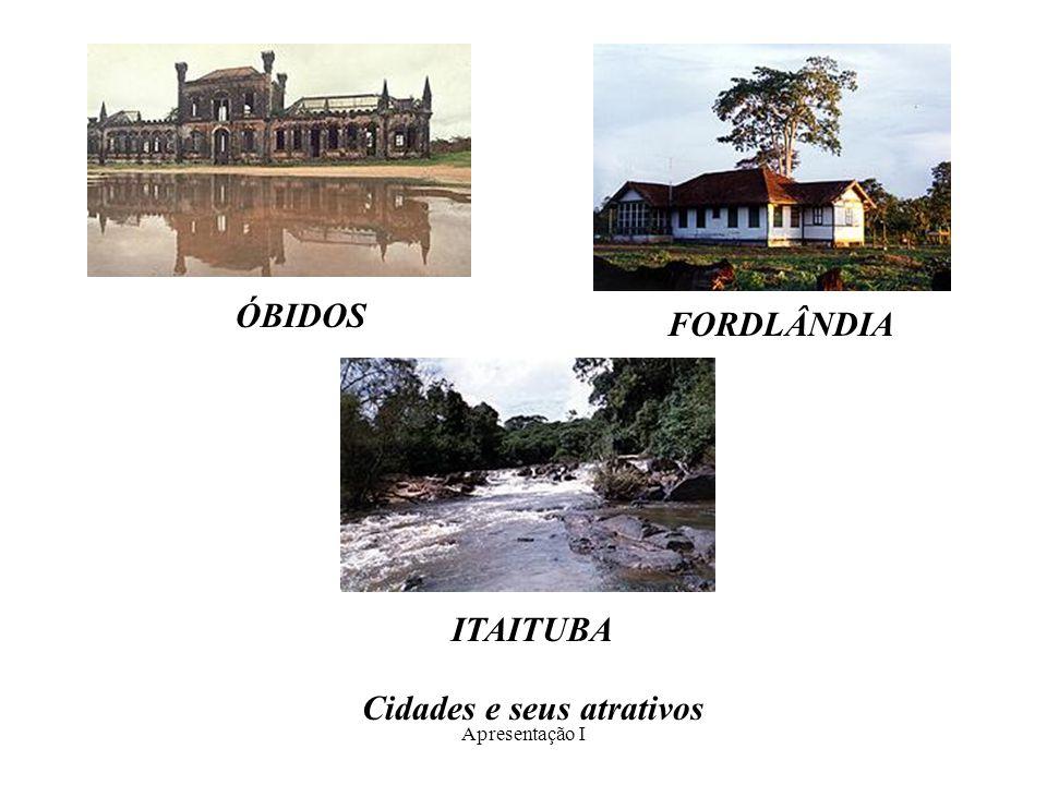 Apresentação I ÓBIDOS FORDLÂNDIA ITAITUBA Cidades e seus atrativos