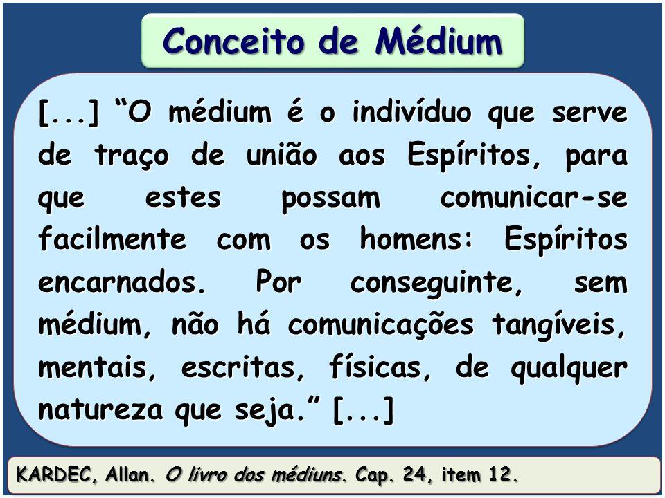 O que é ser médium?