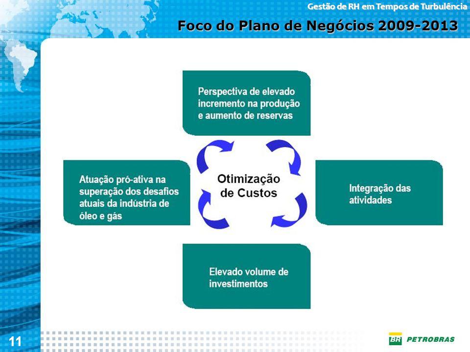 11 Gestão de RH em Tempos de Turbulência Foco do Plano de Negócios 2009-2013