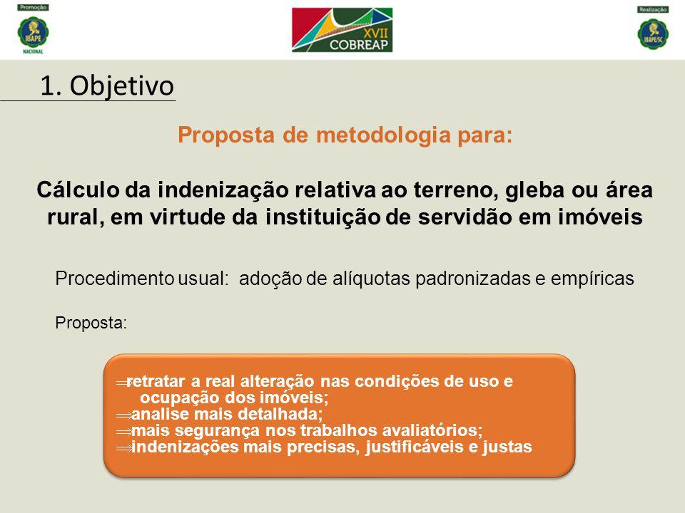 NBR–14.653-1 da ABNT-Associação Brasileira de NormasTécnicas Servidão é o encargo específico que se impõe à uma propriedade em proveito de outrem.
