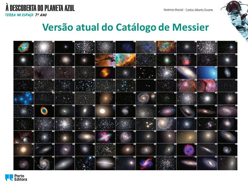 Versão atual do Catálogo de Messier