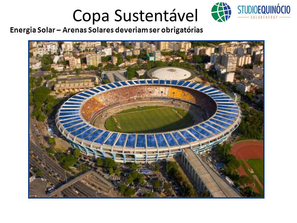 Copa Sustentável Energia Solar – Arenas Solares deveriam ser obrigatórias