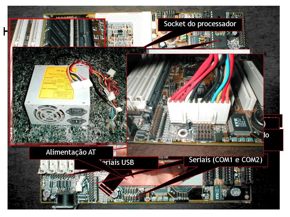 2. A estrutura computacional Hardware – Arquitetura - Placa Mãe 2. A estrutura computacional Hardware – Arquitetura - Placa Mãe 2. A estrutura computa