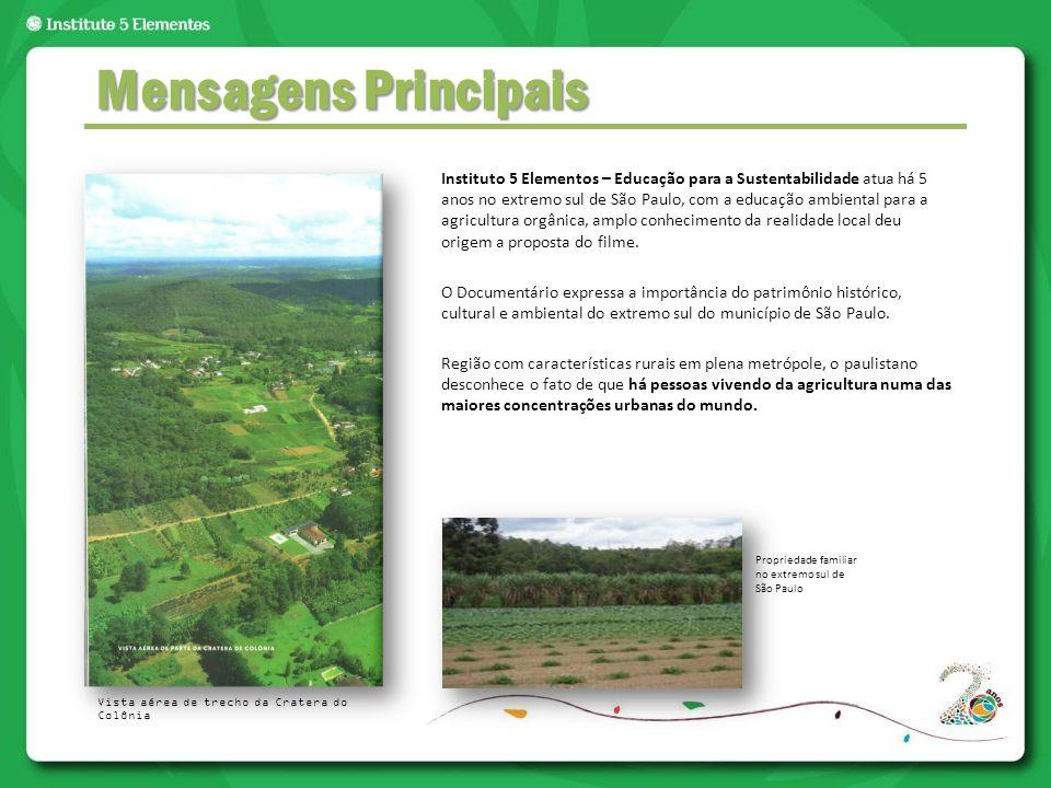 Instituto 5 Elementos – Educação para a Sustentabilidade atua há 5 anos no extremo sul de São Paulo, com a educação ambiental para a agricultura orgân