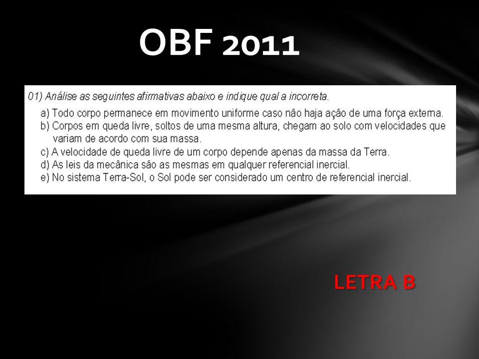 LETRA B OBF 2011