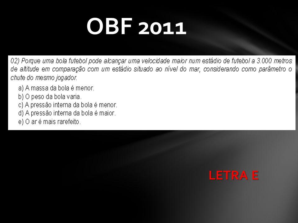 LETRA E OBF 2011
