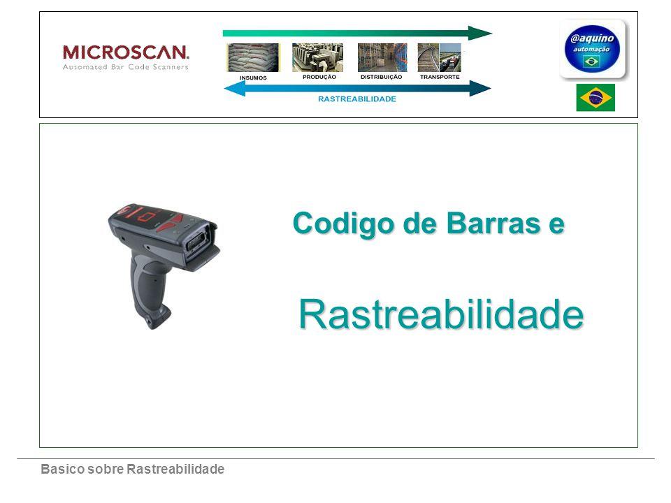 Basico sobre Rastreabilidade Rastreabilidade Codigo de Barras e