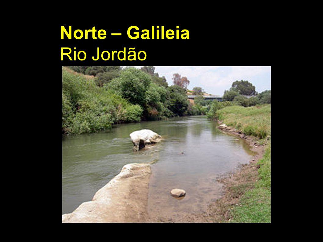 Norte – Galileia Rio Jordão