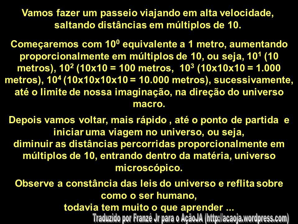 . Aumentando o ZOOM POTÊNCIA DE 10 DO MICRO AO MACRO