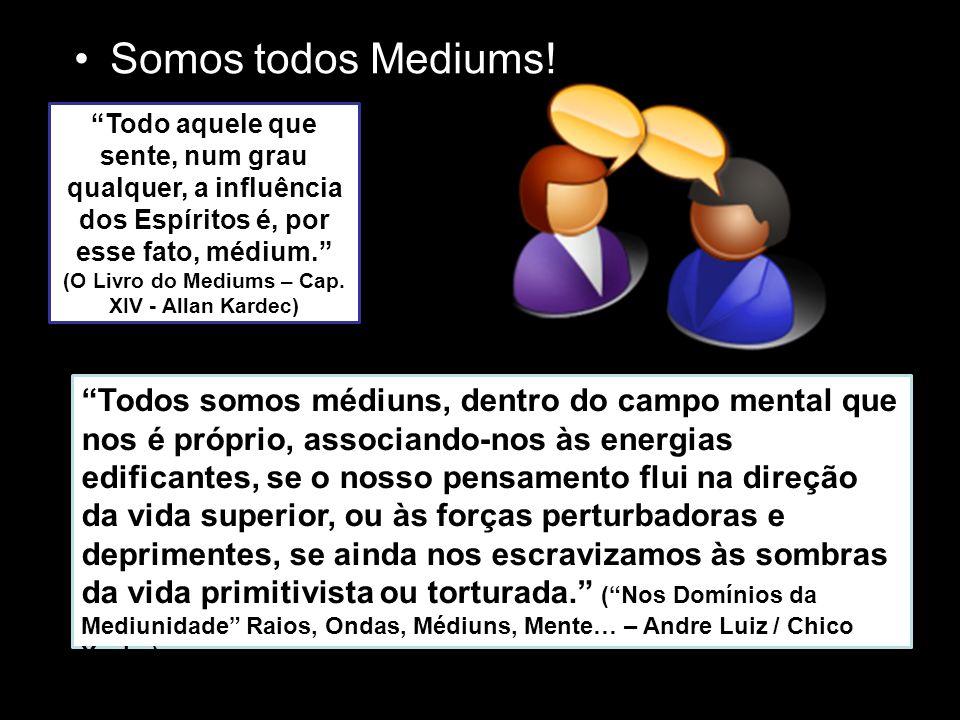 """O que é Mediunidade? """"Mediunidade é um dos atributos ou habilidades do ser humano encarnado pelo qual se usa para comunicar com os desencarnados"""" (Evo"""