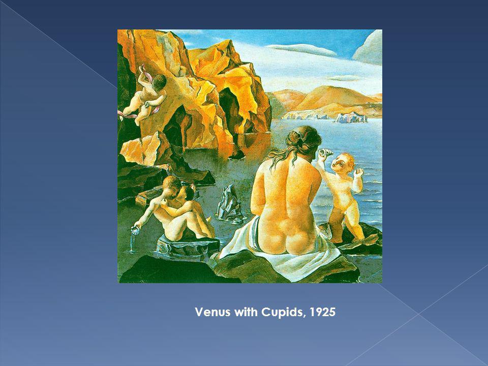 Venus with Cupids, 1925