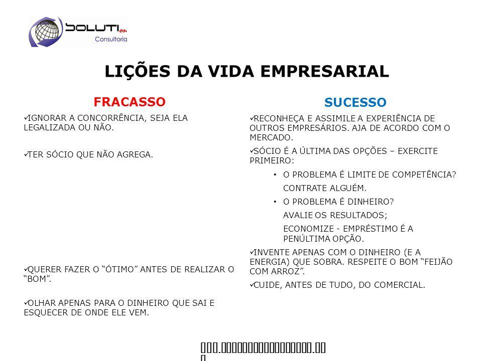 www.soluticonsultoria. co m FRACASSO FALTA DE FOCO.