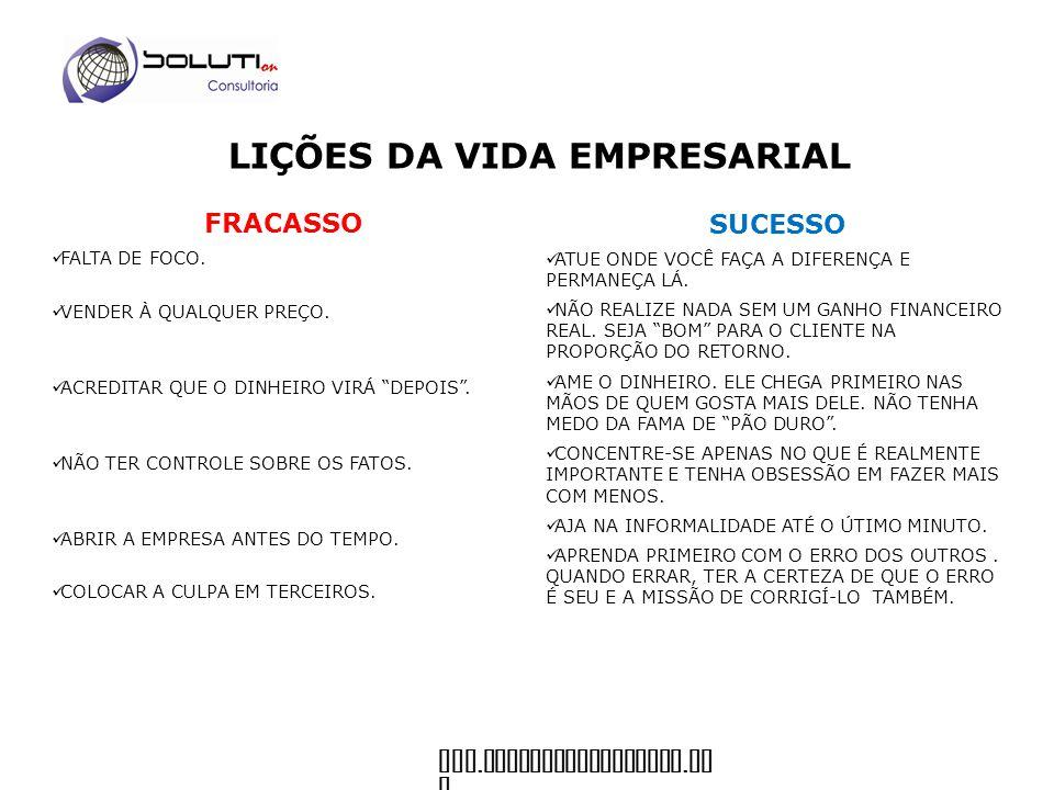 www. soluticonsultoria. co m Dicas para os empreendedores corporativos