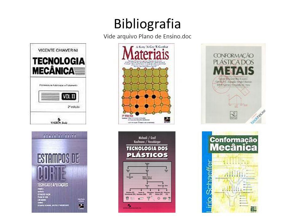 Bibliografia Vide arquivo Plano de Ensino.doc