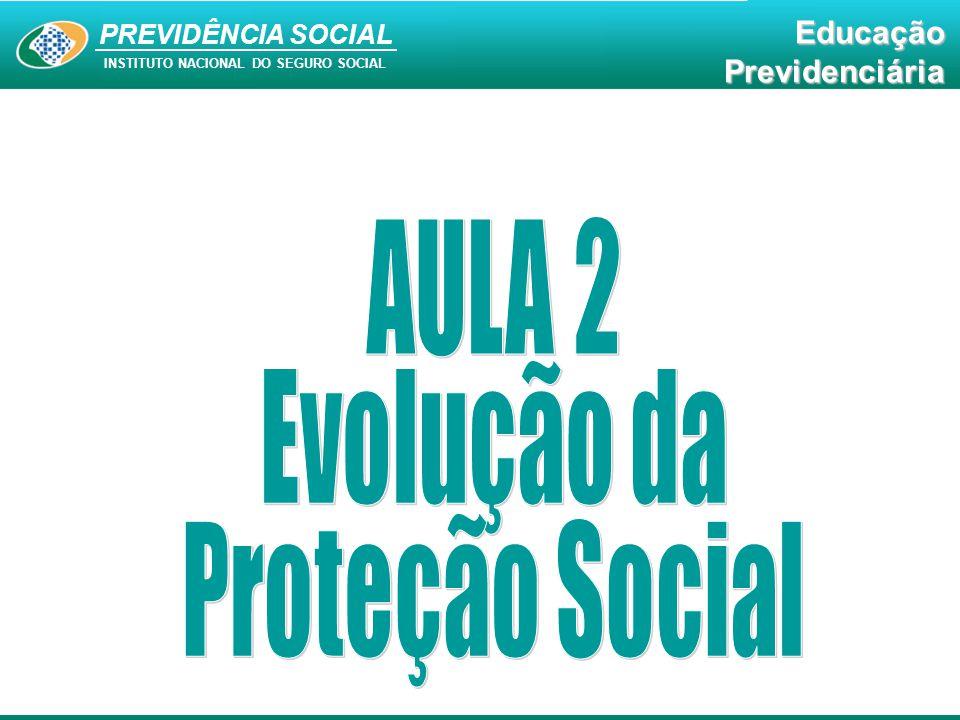 Educação Previdenciária PREVIDÊNCIA SOCIAL INSTITUTO NACIONAL DO SEGURO SOCIAL EducaçãoPrevidenciária A Previdência Social constitui-se numa política pública social eficiente e exerce um papel fundamental na manutenção da sustentabilidade social do país.