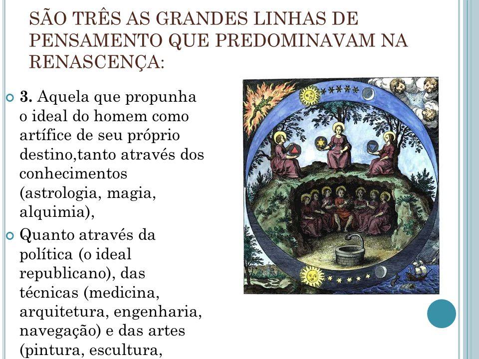 QUESTÃO 03 Uma das características do Renascimento e da Modernidade que lhe é associada é um processo de secularização da ciência que se expressa por uma dissociação entre a teologia e a filosofia da natureza.