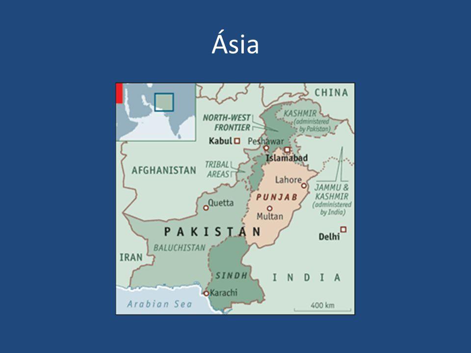 Ásia Morte de civis -> apoio aos talibãs 3700 pessoas em 2006