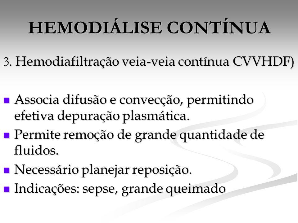 HEMODIÁLISE CONTÍNUA 3.