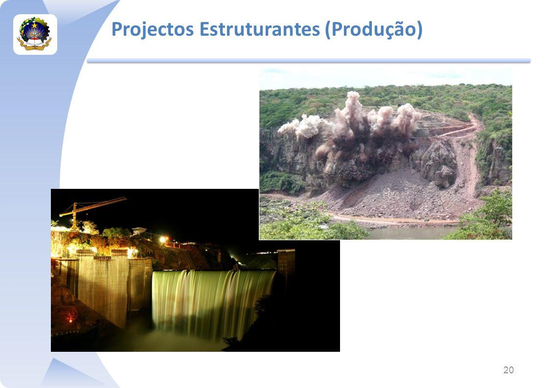 20 Projectos Estruturantes (Produção)