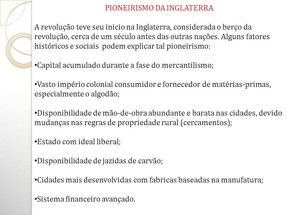 REVOLUÇÃO INDUSTRIAL - SOCIALISMO Ideal de combater injustiças do novo sistema (capitalismo); Pensadores como Marx, Engels.