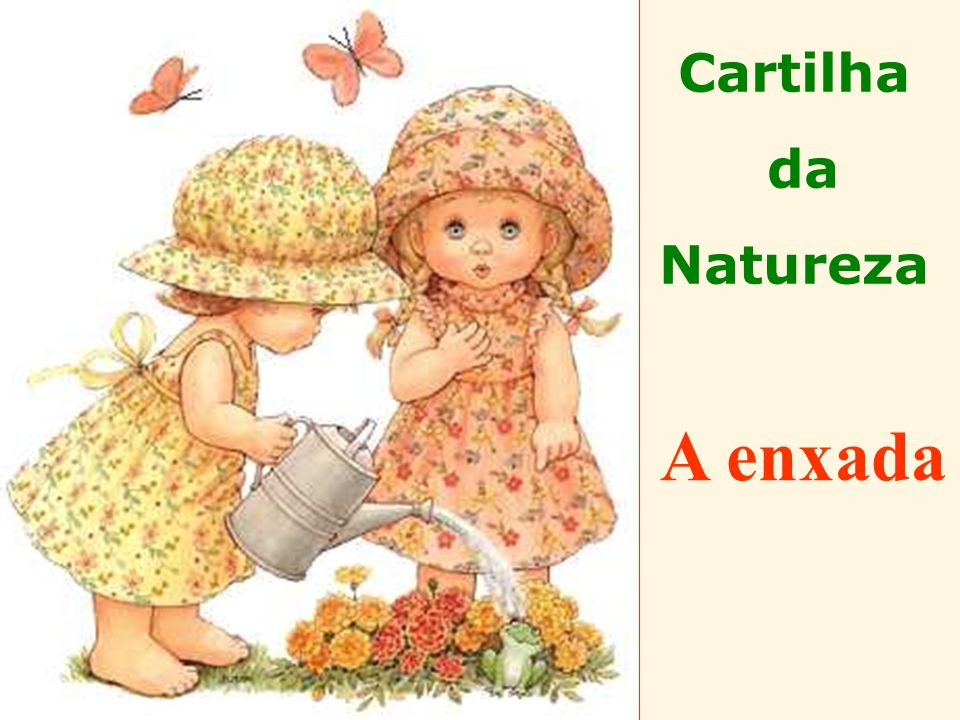 Cartilha da Natureza A enxada