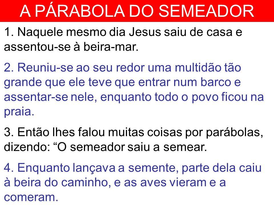 A PÁRABOLA DO SEMEADOR 5.