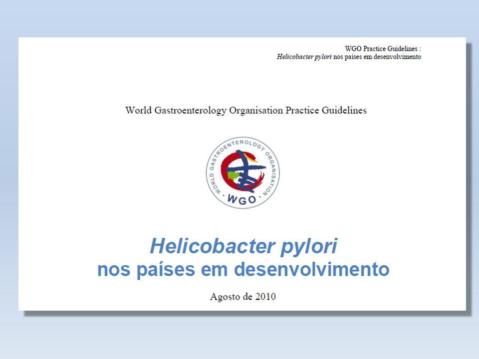 Introdução O Helicobacter pylori (Hp) acomete a metade da população mundial.