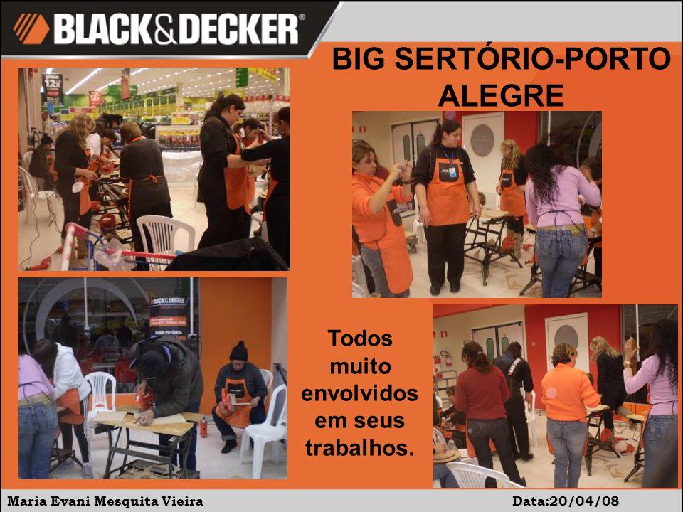 Maria Evani Mesquita Vieira Data:20/04/08 BIG SERTÓRIO-PORTO ALEGRE Todos muito envolvidos em seus trabalhos.